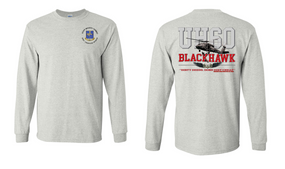 "502nd Infantry Regiment  ""UH-60"" Long Sleeve Cotton Shirt"