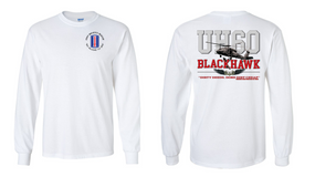 "193rd Infantry Brigade  ""UH-60"" Long Sleeve Cotton Shirt"