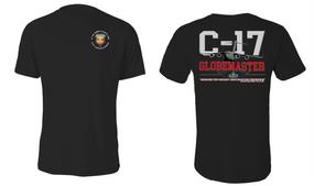 "3/4 Air Defense Artillery (Airborne) ""C-17 Globemaster"" Cotton Shirt"