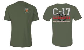 "319th Airborne Field Artillery Regiment ""C-17 Globemaster"" Cotton Shirt"