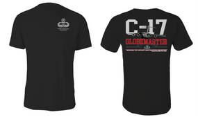 "US Army Master Parachutist ""C-17 Globemaster"" Cotton Shirt"