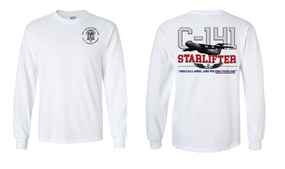 "82nd Aviation Brigade ""C-141 Starlifter"" Long Sleeve Cotton Shirt"