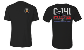 "3/4 Air Defense Artillery (Airborne) ""C-141 Starlifter"" Cotton Shirt"
