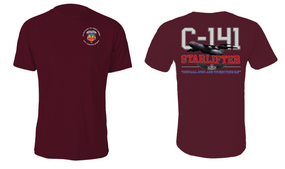 "3-73rd Armor (Airborne) ""C-141 Starlifter"" Cotton Shirt"