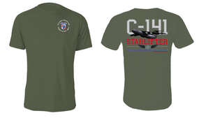 "35th Signal Brigade (Airborne) ""C-141 Starlifter"" Cotton Shirt"