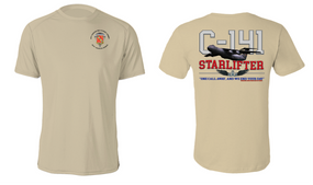 "319th Airborne Field Artillery Regiment  ""C-141 Starlifter"" Cotton Shirt"