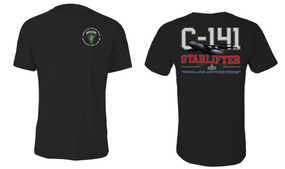 "US Army Civil Affairs & Psyops Command  ""C-141 Starlifter"" Cotton Shirt"