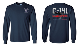 "503rd Parachute Infantry Regiment  ""C-141 Starlifter"" Long Sleeve Cotton Shirt"
