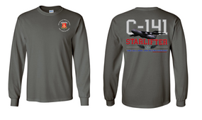 "782nd Maintenance Battalion ""C-141 Starlifter"" Long Sleeve Cotton Shirt"