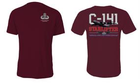 "US Army Master Parachutist  ""C-141 Starlifter"" Cotton Shirt"
