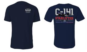"US Army Basic Parachutist  ""C-141 Starlifter"" Cotton Shirt"