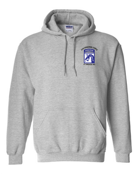 18th Airborne Corps (2) Embroidered Hooded Sweatshirt