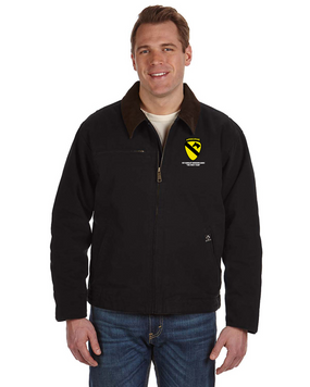 1st Cavalry Division (Airborne) Embroidered DRI-DUCK Outlaw Jacket