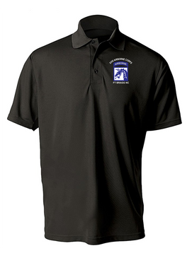 18th Airborne Corps (2) Embroidered Moisture Wick Polo  Shirt