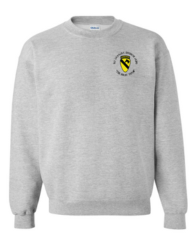 1st Cavalry Division (Airborne) (C) Embroidered Sweatshirt