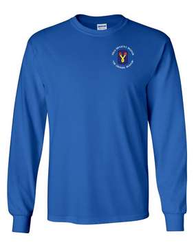 196th Light Infantry Brigade (C) Long-Sleeve Cotton T-Shirt