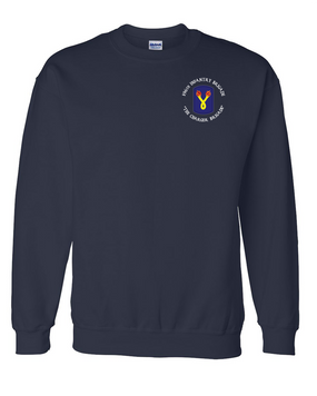 196th Light Infantry Brigade (C) Embroidered Sweatshirt