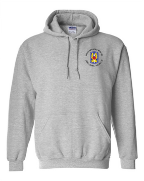 199th Light Infantry Brigade (C)  Embroidered Hooded Sweatshirt