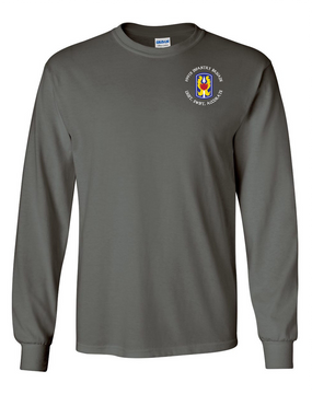 199th Light Infantry Brigade (C) Long-Sleeve Cotton T-Shirt