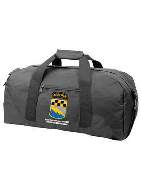 525th Expeditionary MI Brigade (Airborne) Embroidered Duffel Bag