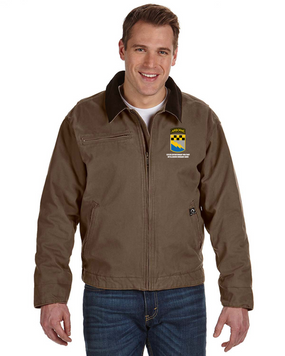 525th Expeditionary MI Brigade (Airborne)  Embroidered DRI-DUCK Outlaw Jacket