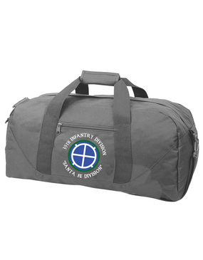 35th Infantry Division (C) Embroidered Duffel Bag