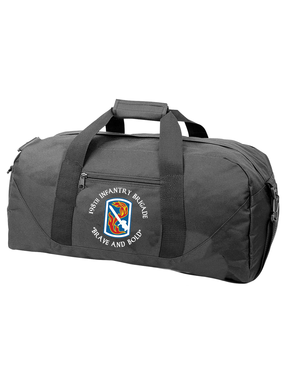 198th Light Infantry Brigade (C)  Embroidered Duffel Bag