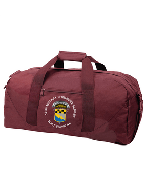 525th Expeditionary MI Brigade (Airborne) (C)  Embroidered Duffel Bag