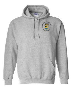 525th Expeditionary MI Brigade (Airborne) (C)  Embroidered Hooded Sweatshirt