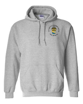 525th Expeditionary MI Brigade (Airborne) (C)  Embroidered Hooded Sweatshirt