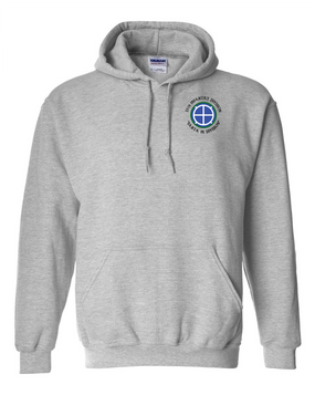 35th Infantry Division (C)  Embroidered Hooded Sweatshirt