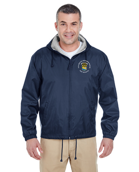525th Expeditionary MI Brigade (Airborne) (C)  Embroidered Fleece-Lined Hooded Jacket