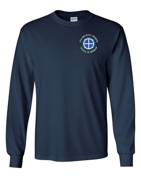 35th Infantry Division (C)  Long-Sleeve Cotton T-Shirt