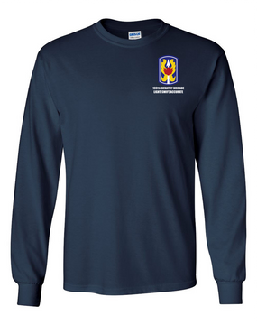 199th Light Infantry Brigade Long-Sleeve Cotton T-Shirt