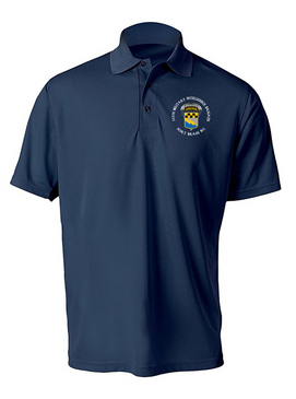 525th Expeditionary MI Brigade (Airborne) (C)  Embroidered Moisture Wick Polo Shirt
