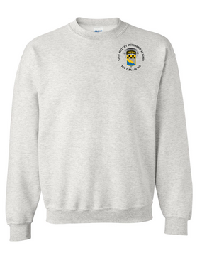 525th Expeditionary MI Brigade (Airborne) (C)  Embroidered Sweatshirt