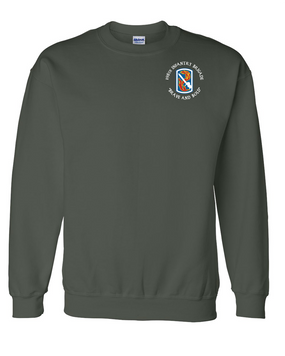 198th Light Infantry Brigade (C) Embroidered Sweatshirt