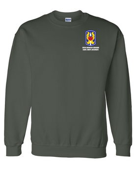 199th Light Infantry Brigade Embroidered Sweatshirt
