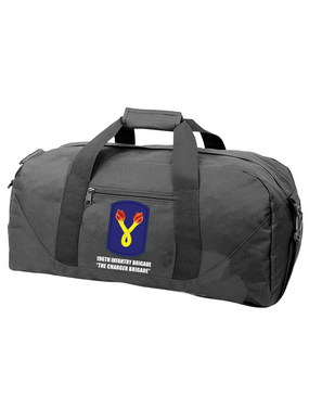 196th Light Infantry Brigade Embroidered Duffel Bag