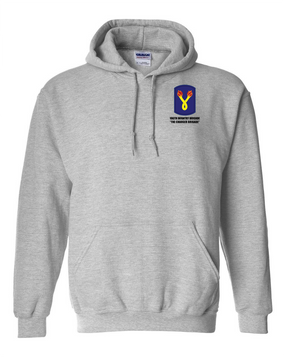 196th Light Infantry Brigade Embroidered Hooded Sweatshirt