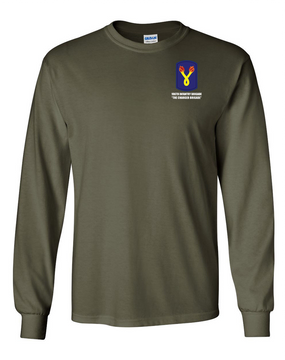 196th Light Infantry Brigade Long-Sleeve Cotton T-Shirt