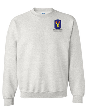 196th Light Infantry Brigade Embroidered Sweatshirt