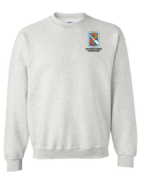 "198th Light Infantry Brigade ""Vietnam""  Embroidered Sweatshirt"