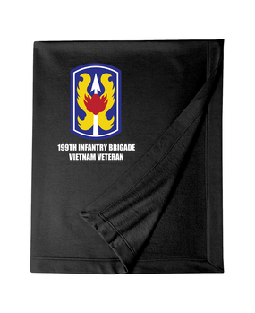 "199th Light Infantry Brigade ""Vietnam""  Embroidered Dryblend Stadium Blanket"