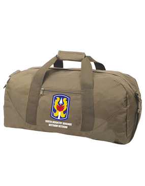 "199th Light Infantry Brigade ""Vietnam""  Embroidered Duffel Bag"