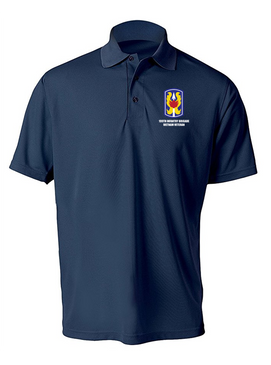 "199th Light Infantry Brigade ""Vietnam""  Embroidered Moisture Wick Polo  Shirt"