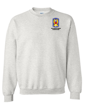 "199th Light Infantry Brigade ""Vietnam""  Embroidered Sweatshirt"