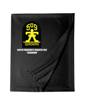 509th Parachute Infantry Regiment Embroidered Dryblend Stadium Blanket
