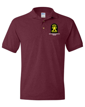 509th Parachute Infantry Regiment Embroidered Cotton Polo Shirt