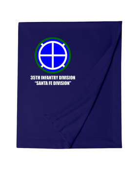35th Infantry Division  Embroidered Dryblend Stadium Blanket